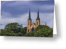 St Andrews Catholic Church Roanoke Virginia Greeting Card