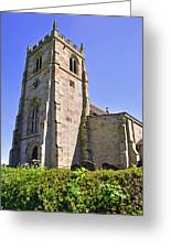 St Andrew's Church At Cubley In Derbyshire Greeting Card