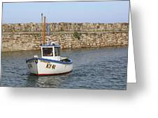 St Andrews Harbour Greeting Card