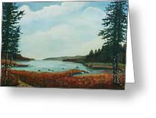 St Annes Bay Nova Scotia Greeting Card