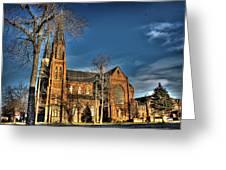 St. Annes Detroit Mi Greeting Card