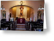 St. Ann's Church Of Tubac Arizona Greeting Card