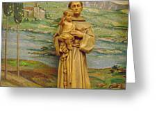 St Anthony Chapel Greeting Card