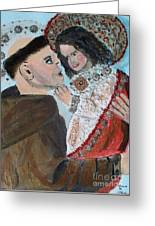 St. Anthony In Amazement Greeting Card