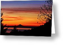 St Augustine At Sunset Greeting Card