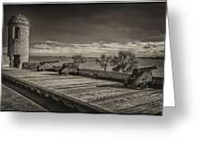 St Augustine Castillo De San Marcos Dsc00141_16 Greeting Card