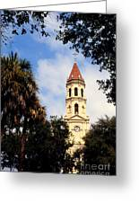 St Augustine Cathedral Greeting Card