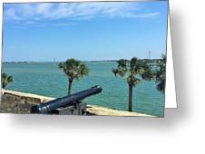 St. Augustine Historical Fort Greeting Card