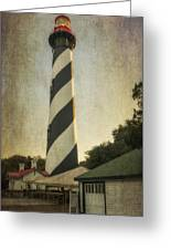 St Augustine Lighthouse Dsc00390_16 Greeting Card