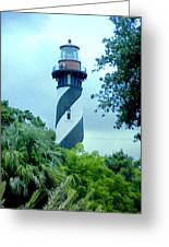St Augustine Lighthouse Greeting Card