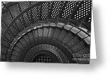 St. Augustine Lighthouse Spiral Staircase I Greeting Card