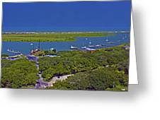 St. Augustine Panoramic Greeting Card