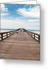 St. Augustine Pier Greeting Card