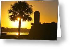 St. Augustine Summer Greeting Card