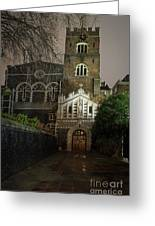 St Bartholomew The Great Church Greeting Card