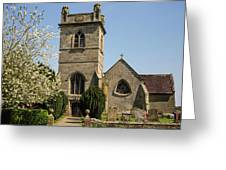 St Bartholomew's Church - Moreton Corbet Greeting Card