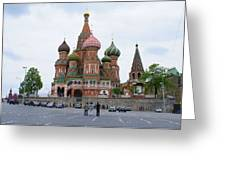 St. Basil's Cathedral 12 Greeting Card