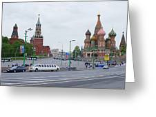 St. Basil's Cathedral 8 Greeting Card