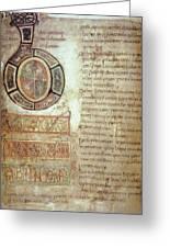 St. Bede, Manuscript Greeting Card
