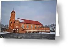 St Bernards Church Greeting Card