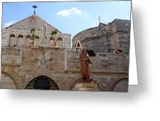 St Catherine Church Greeting Card