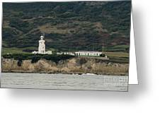 St Catherine's Lighthouse Greeting Card