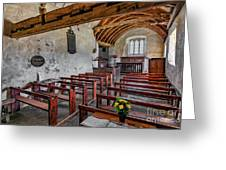 St Celynnin Church  Interior Greeting Card