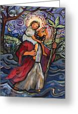 St. Christopher Greeting Card