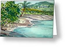 St. Croix Beach Greeting Card