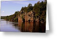 St Croix River View Greeting Card