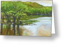 St. Croix, Spring Flood Greeting Card
