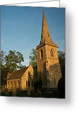 St Davids Church Greeting Card