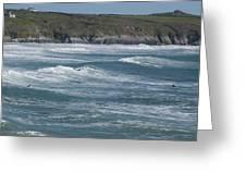 St. Davids Coastline Greeting Card