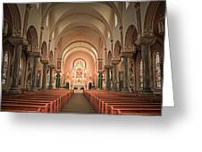 Saint Fidelis Greeting Card