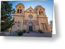 St. Francis Cathedral #2 Greeting Card