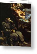 St Francis Consoled Greeting Card