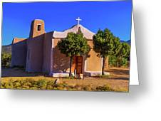 St. Francis De Assisi Adobe Church Greeting Card