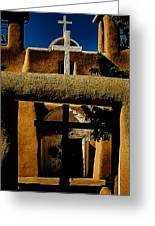 St. Francis Gate Greeting Card