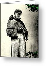 St. Francis In St. James Greeting Card