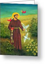St. Francis Of Assisi Greeting Card