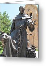 St. Francis Of Assissi Greeting Card
