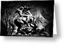 St. George And The Dragon Greeting Card