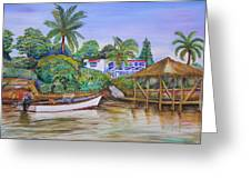St. George Harbor Greeting Card