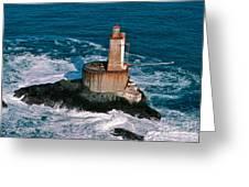 St. George Reef Light Greeting Card