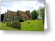 St George's Church At Arreton Greeting Card by Rod Johnson