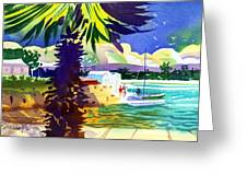 St. George's Harbour Greeting Card
