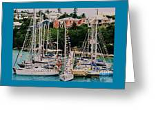 St. George's Yacht Club Bermuda Greeting Card