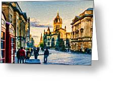 St Giles' Cathedral Greeting Card