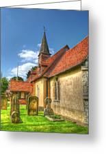St Giles Ickenham Greeting Card