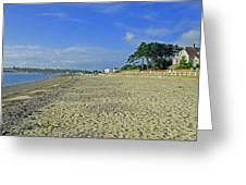 St Helens Beach Greeting Card